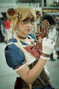 steampunk Sailor Moon Fanime 2014