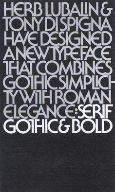 Herb Lubalin Poster