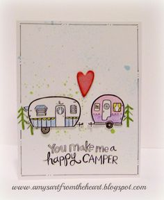 Amy's Art from the Heart, camper crazy, ctmh