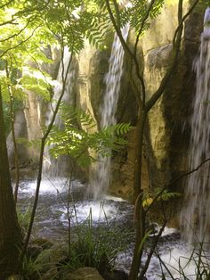 Waterfalls in Efteling