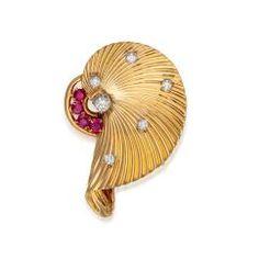 Important Jewels, Watches & Objects of Virtu - AU0850 Cartier, Diamond Cuts, Objects, Brooch, Jewels, Gold, Diamonds, Handle, Fan