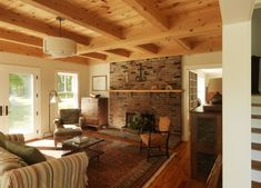New Vermont Farmhouse Interiors - before and after - Joan Heaton ...