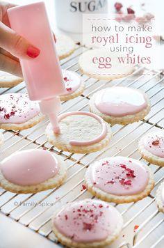 Egg White Royal Icing