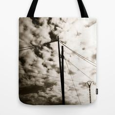 Cables Tote Bag by dissabtes - $22.00