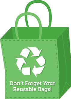 Green Living Tip: Use Reusable Bags