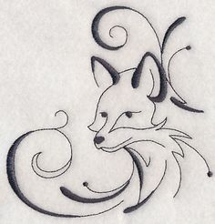 Inky Fox Corner Machine Embroidery Designs at Embroidery Library! – Inky Fox Corner Machine Embroidery Designs at Embroidery Library! Animal Sketches, Animal Drawings, Cool Drawings, Fox Drawing, Wood Burning Art, Fox Art, Quilling Designs, Machine Embroidery Designs, Painted Rocks