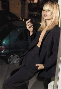 Im a huge fan of YSL and the smoking jacket