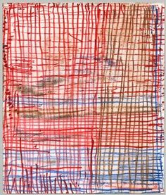 Louise Bourgeois Be Calme - 2004 a suite of 31 double-sided drawings mixed media on paper each 24.1 x 20.3 cm