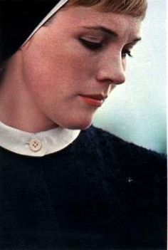 Convent. Julie Andrews in nun costume