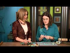 ▶ 1902-2 Learn how to wire wrap bangle bracelets with Barb Switzer on Beads, Baubles & Jewels - YouTube
