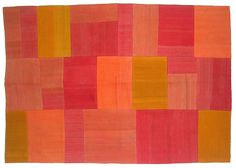 wow look at these colors!! Volkan Vintage Patchwork Kilim by bazaarbayar on Etsy