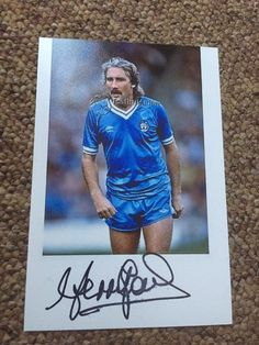 Gerry Gow Hand Signed 6x4 Photo Manchester City Bristol Rotherham United • £0.99