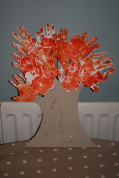 The Imagination Tree: Autumn Tree Handprints