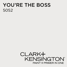 You're The Boss 5052 by Clark+Kensington