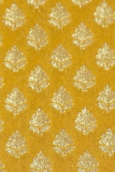 silk golden yellow fabric