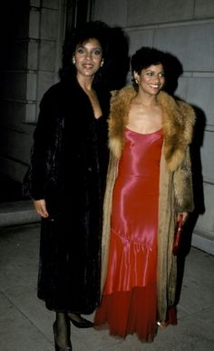 Actresses Debbie Allen and Phylicia Rashad attenidng 'The Kennedy Center Honors Awards' on December 2 1984 at the Kennedy Center in Washington DC