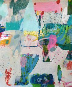 Take a peek inside the studio - and creative process - of Sydney artist Emily Besser.