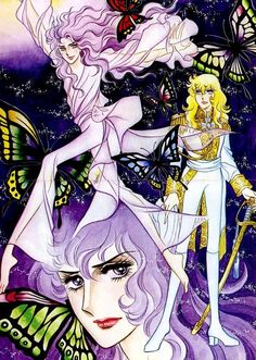 Oscar, Cute Drawings, Tarot, Manga Anime, Lady, Prints, Fictional Characters, Vintage, Rose