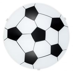 Soccer Ball Ceiling Light made from Black and White Pane Glass #ideas4lighting #clanyrelighting #pendants #tablelamps #art #design #floorlamps #eglo #2017 #ceilinglights #lighting #crystal #chrome #diamonds #cafe #restaurant #business #lights #future #outdoorlighting #outdoor #concrete