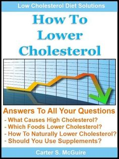 How To Lower Cholesterol - Naturally Lower Your Cholesterol and Low Cholesterol Diet Solutions
