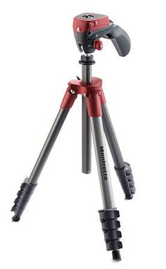 Manfrotto MKCOMPACTACN Compact Action Tripod The Compact Action is the best choice for owners of entry level DSLRs with standard kit lenses who like to shoot a lot of photos and movies. The ergonomic joystick head with scroll-wheel locking mechanism Best Dslr, Best Camera, Camera Hacks, Camera Gear, Dslr Cameras, Accessoires Photo, Camera Tripod, Photography Accessories, Best Smartphone