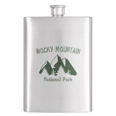 Rocky Mountain National Park Flask camping gifts for kids, holiday camping, backyard gifts #dishscrub #etsysellersofinstagram #oldrag, back to school, aesthetic wallpaper, y2k fashion Mt Rainier National Park, Sequoia National Park, Grand Teton National Park, Rocky Mountain National Park, Banff National Park, Yellowstone National Park, National Parks, Hiking Gifts, Camping Gifts