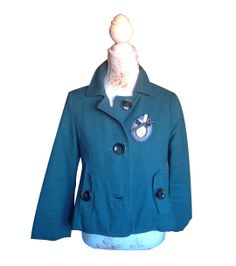 Chaqueta verde Pull and Bear 29.90€