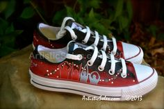 Ohio State Custom Converse All Star Shoes  Low by ArtisticSoles, $148.00