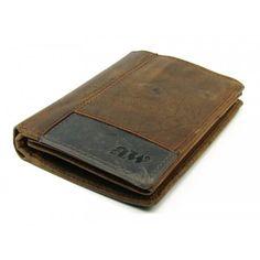 Hnědá kožená pněženka pánská na vaše prašule - peněženky AHAL Card Case, Wallet, Purses, Diy Wallet, Purse