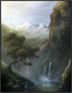Waterfall by pbario.deviantart.com on @deviantART