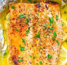 Sheet Pan Honey Lemon Salmon | Food Recipes