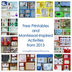 Montessori Monday – Free Printables and Montessori-Inspired Activities from 2013 ....Blog post at LivingMontessoriNow.com : Since December 15, 2011, I've published a Montessori-inspired post at PreK + K Sharing on the 15th of each month. I share free printables [..]