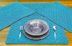 Oat Couture AC307 Shasta Placemats Crocheting Patterns, Knit Or Crochet, Couture, Knitting, Projects, Log Projects, Crochet Patterns, High Fashion, Sewing