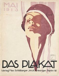 Buy online, view images and see past prices for Poster by Ludwig Hohlwein - Das Plakat. Invaluable is the world's largest marketplace for art, antiques, and collectibles. Art And Illustration, Illustrations Posters, Logo Label, Jugendstil Design, Berlin, Retro Poster, Kunst Poster, Art Deco Posters, Ad Art