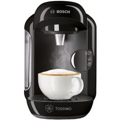 Tassimo by Bosch Vivy Hot Drinks Machine - Red Tassimo Coffee, Coffee Brewer, Latte Macchiato, Bosch Tassimo, Machine Expresso, Cafetiere, Perfect Cup, Capsule, Shopping