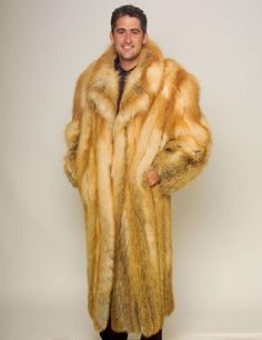 Fox Fur Coat Mens 5Fmu7b