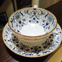 English Bone China Teacup Mintons China Tea Cup by ACertainFeel