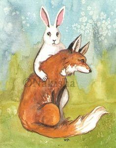 Strength  The Rabbit Tarot
