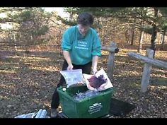 Vermicomposting 101-- Cathy Nesbitt of Cathy's Crawly Composters demonstrates how to set-up, maintain and harvest a worm composting bin. Cathy also shows how much and what to feed your worms.  Vermicomposting is an excellent way to convert your organics (food waste) into nutrient rich compost.