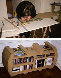 Cardboard furniture - I love it