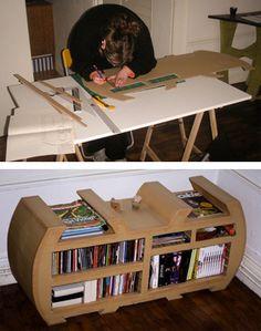 Cardboard furniture - I love it