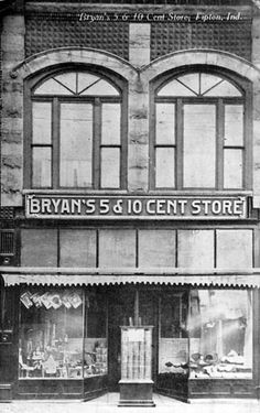 Bryan's 5 & 10 Cent Store in Tipton, IN.