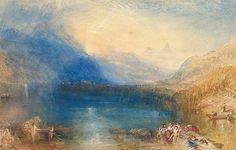 Joseph Mallord William Turner: The Lake of Zug (59.120)