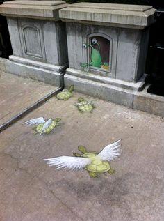 #DavidZinn #Street #Art