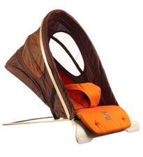 Svan Bouncer: This bouncer has a fully adjustable seat for both sitting and napping. #registry