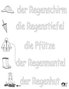 German Worksheets for Kids ~ Spring Printout German ~ German Activities for Children ~ Deutsch für Kinder ~ Arbeitsblätter für Kinder