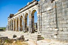 Morocco, ruins of Volubilis, ancient Roman town, near Meknes Stock Photo - 12184234