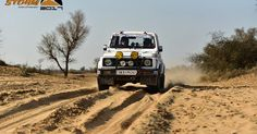 Continuing the legacy of promoting motorsports and fueling its belief of making motorsport accessible to everyone in India, Maruti Suzuki kicked off the 15th edition of Maruti Suzuki Desert Storm Rally from GIP, Noida on 29th January, 2017.  This edition has seen a record breaking participation from over 200 participants who will traverse from the inauguration place to Jodhpur covering a distance of over 2000 KM in six days.