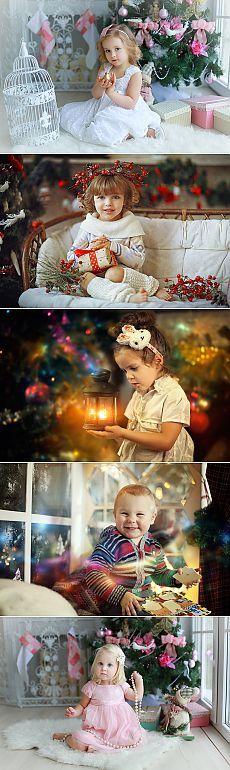 Дети и Новый год. Фотограф Наталья Законова. .