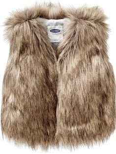 A Fall must have! Faux-Fur Vest for Baby